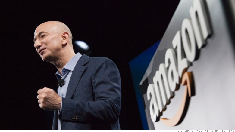 Bezos is $5B away from being world's richest person