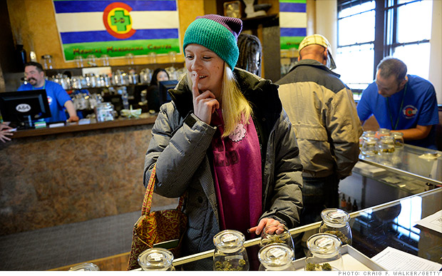High times: Tourists flock to Colo. for legal pot