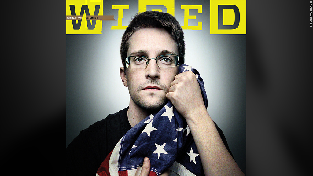 snowden wired cover