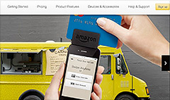 Amazon undercuts Square with new mobile credit card payments service