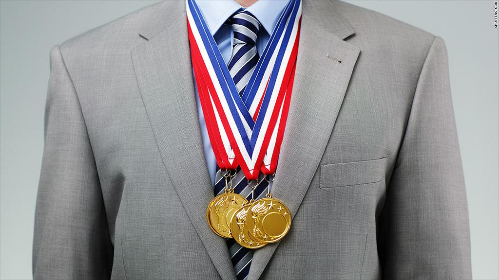 resume olympic