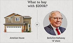 Warren Buffett stock tops $200,000 a share