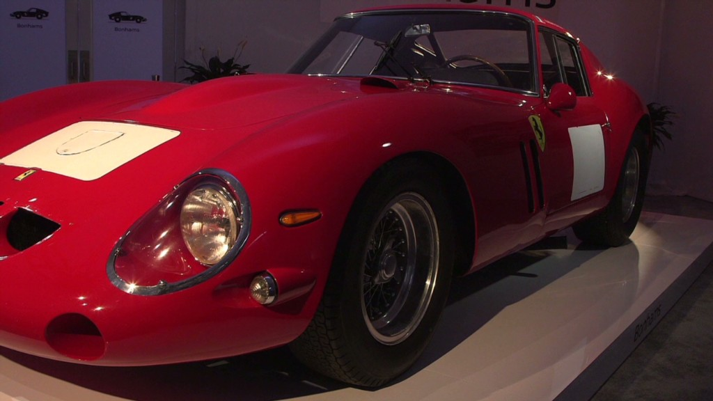 Car breaks auction record at $38M