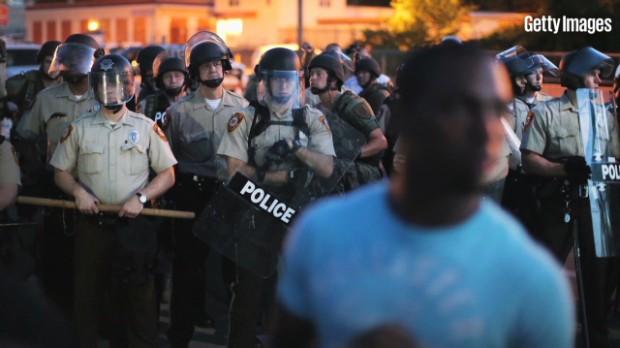 Money divides blacks and whites in Ferguson