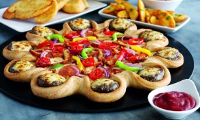 Food chains abroad cater to local tastes