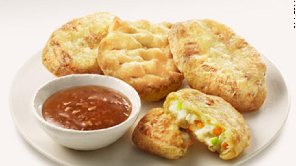 zany food tofu nugget