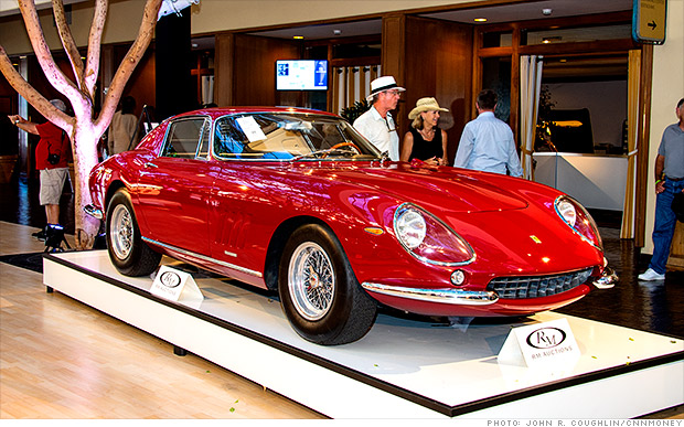 Steve McQueen name triples classic Ferrari's value to $10.2 million
