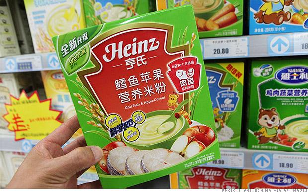 heinz china baby food
