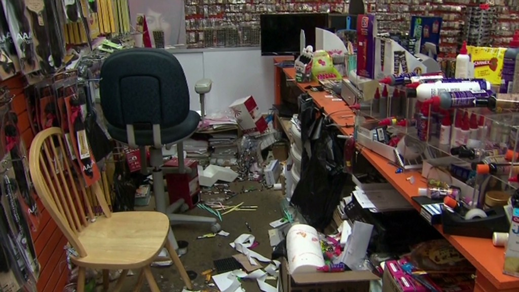 Ferguson store manager: 'We're gonna close'