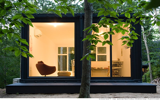 Long island artist studio amazing shipping container homes cnnmoney - Amazing shipping container homes ...