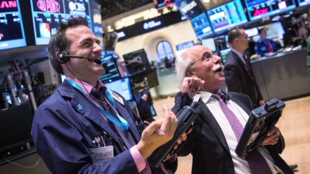 August a hot one for stocks