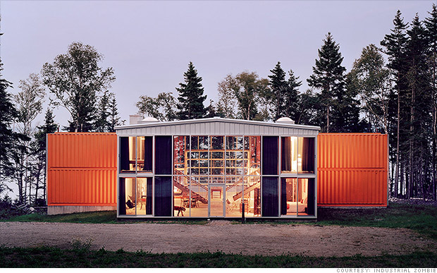 Ship Container House 12 container house - amazing shipping container homes - cnnmoney