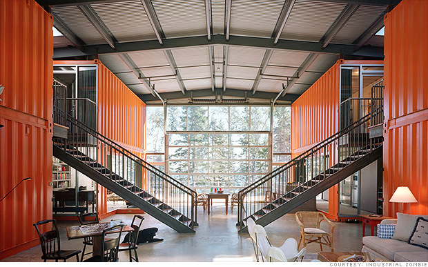 12 Container House - Amazing shipping container homes - CNNMoney
