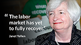 Janet Yellen: Job market problems remain