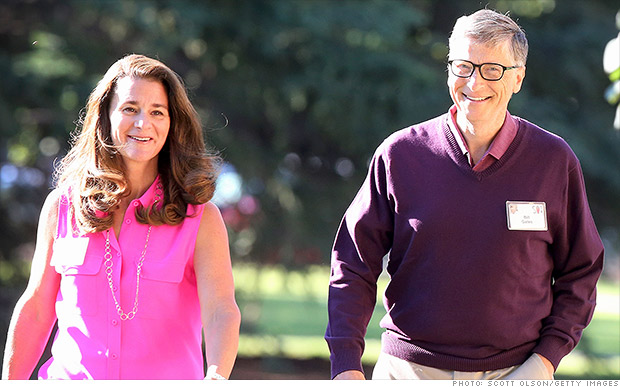 Bill Gates and his wife give $1 million to gun control push