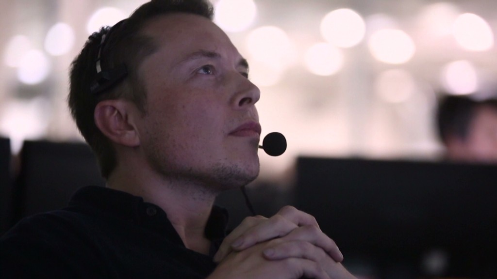 Elon Musk dreams 'dark' before a launch