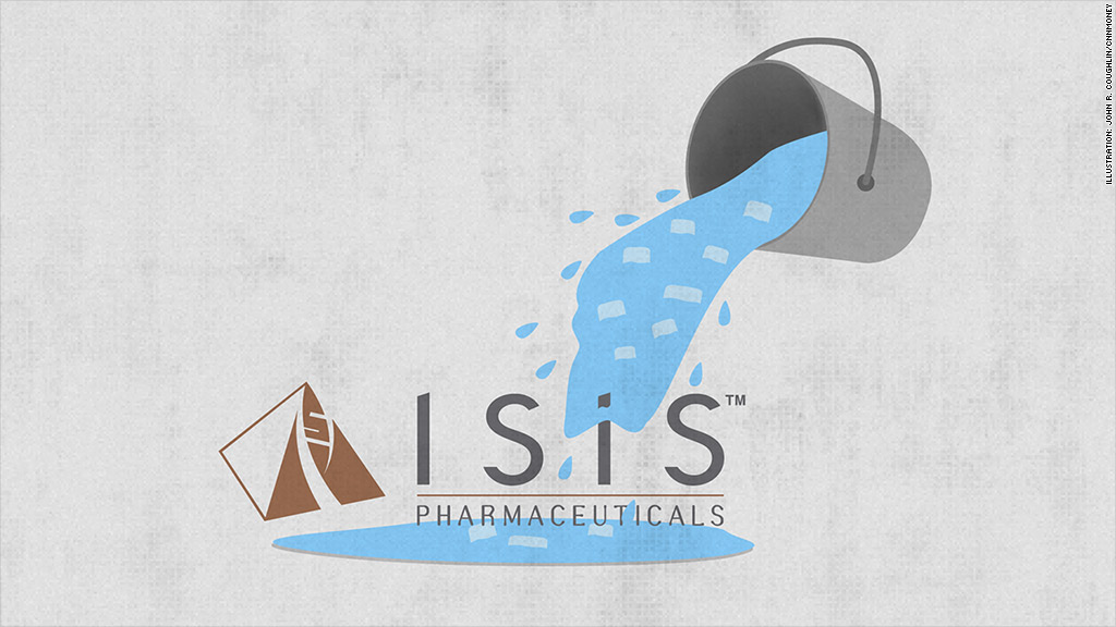 isis pharmaceuticals als ice bucket