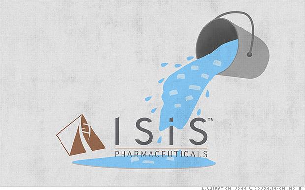 isis pharmaceuticals als ice bucket