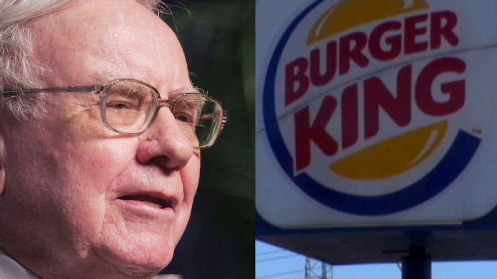 Buffett helps Burger King bite off U.S. tax