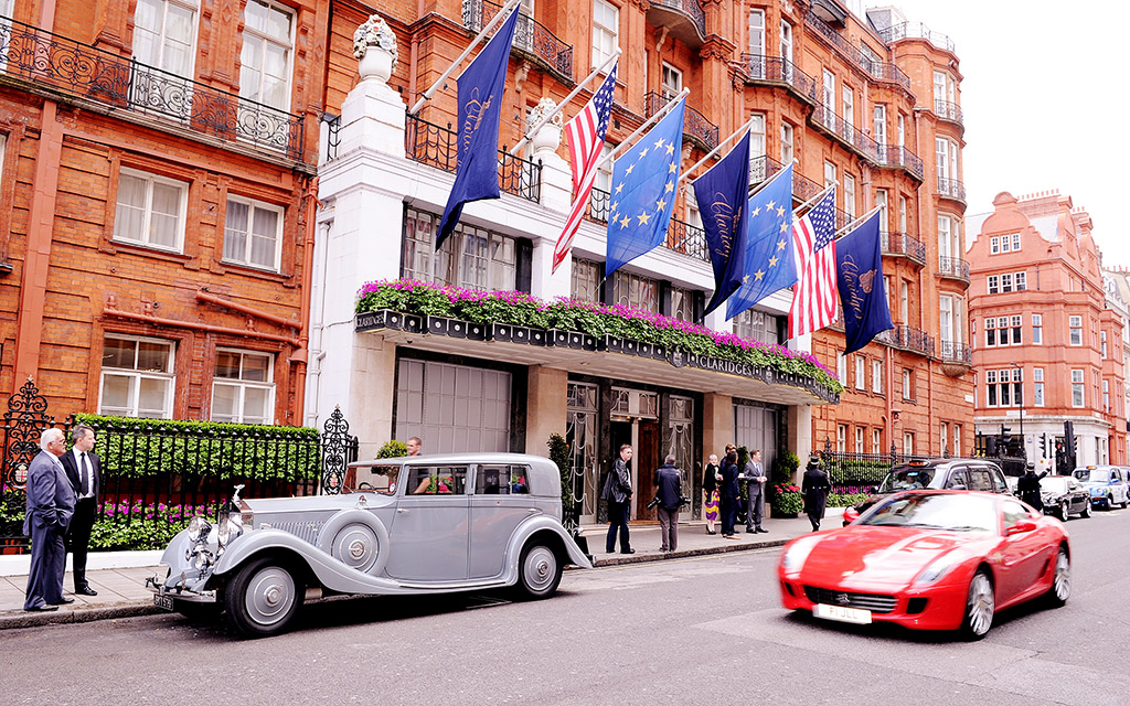 60,000 vacation claridge hotel