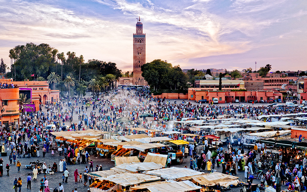 60,000 vacation marrakech