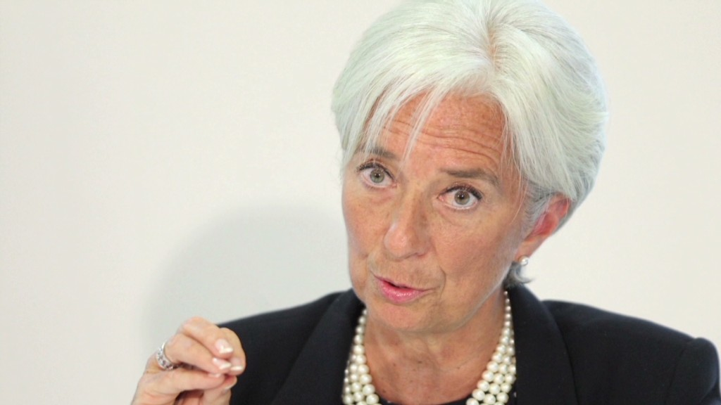 IMF Director: 'Indifference' is biggest economic challenge