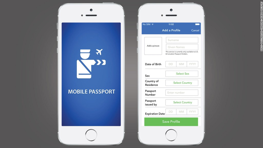 travel apps mobile passport