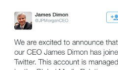 Twitter suspends fake @JPMorganCEO account