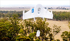 Google reveals secret drone tests