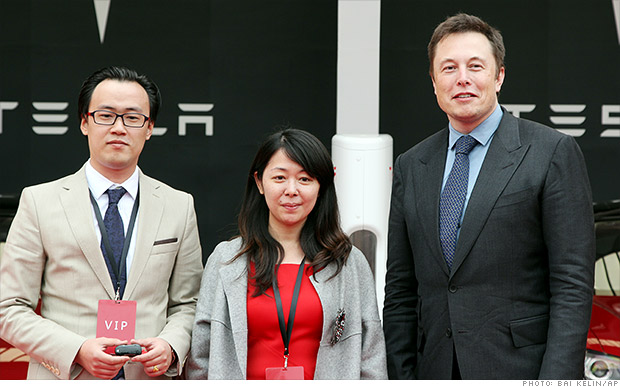 Tesla expands in China. Stock at all-time high