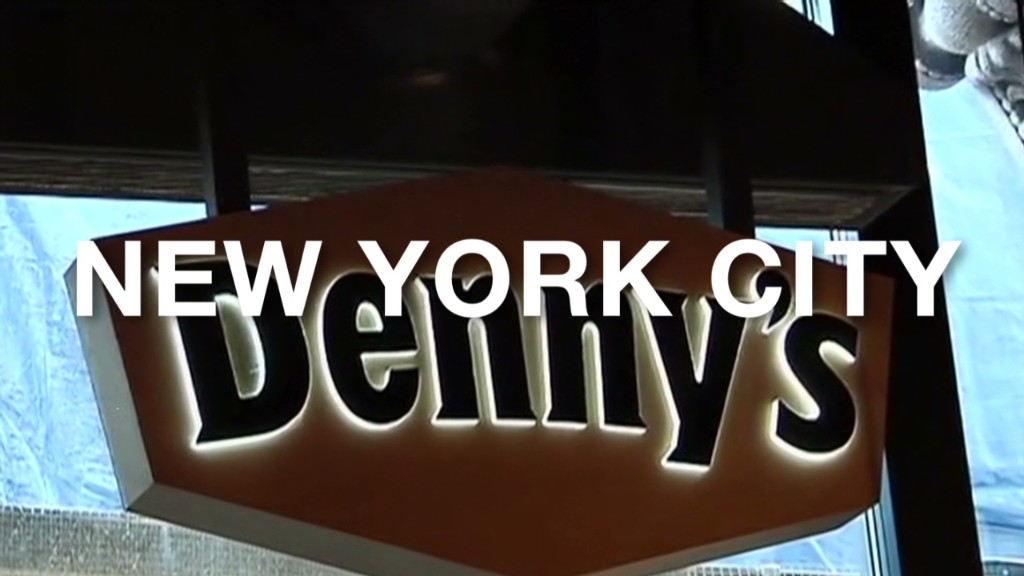 Denny's NYC offers a $300 breakfast