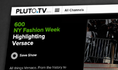 Fashionistas flock to Pluto.TV