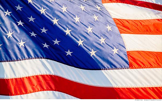 us economy flag
