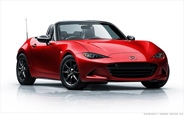 Mazda unveils a more masculine Miata