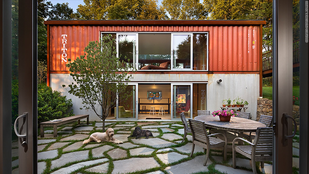 Houses Out Of Storage Containers make a shipping container your home for less than $185,000 - sep