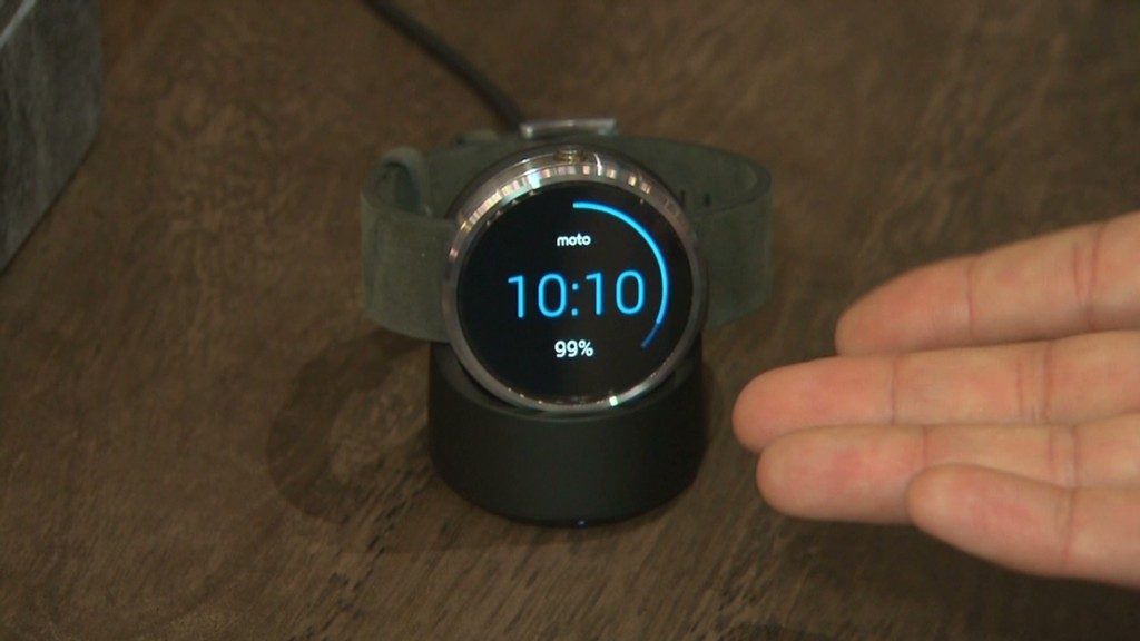 The Moto 360 in 60 (seconds)
