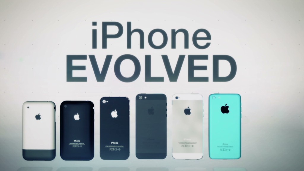 See how the iPhone has evolved