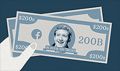 A lot to 'like': Facebook now worth $200 billion