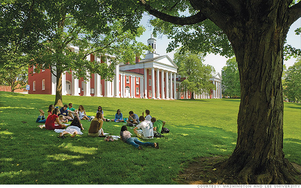 Small Liberal Arts Colleges >> Washington and Lee University - Colleges with the highest ...