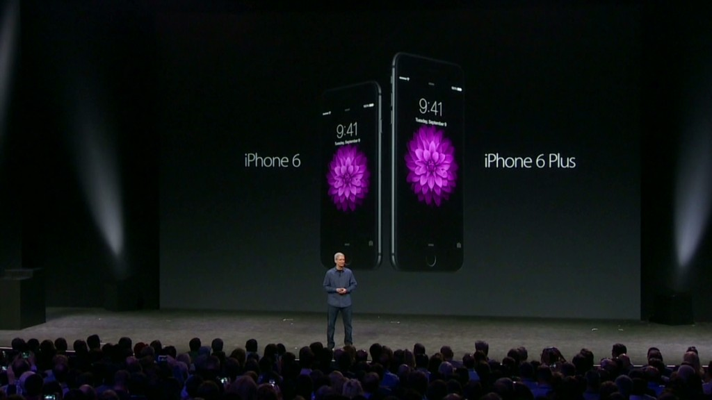 See Apple's new iPhone 6 in :60