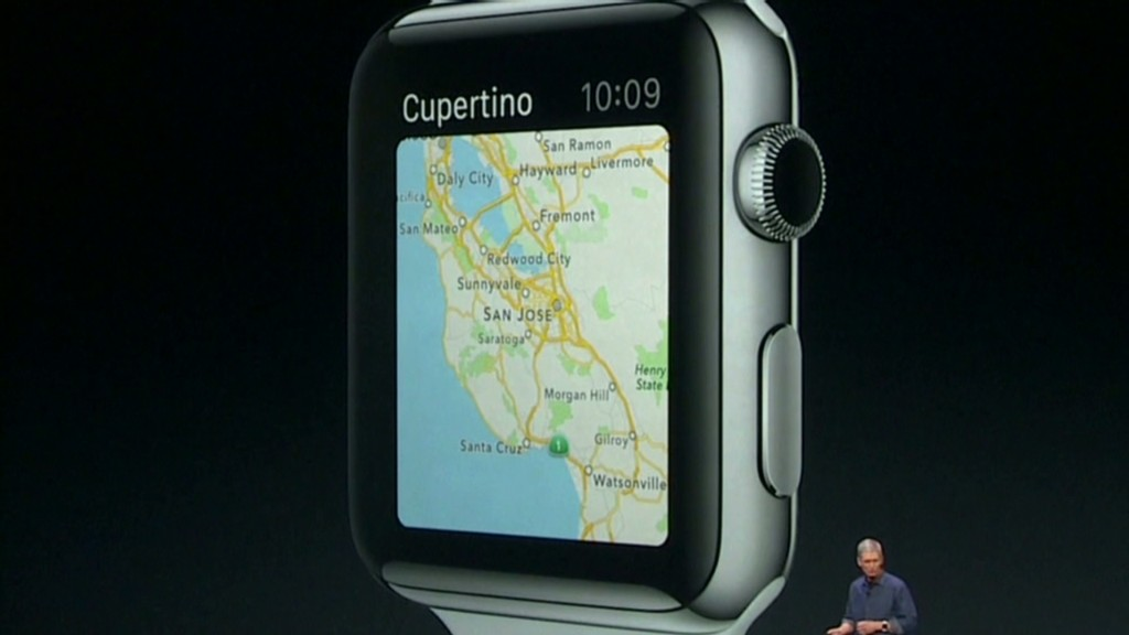 See the new Apple Watch in :60