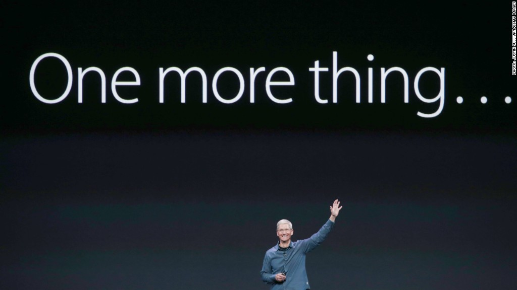 apple one more thing tim cook
