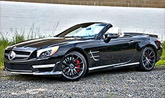 Mercedes SLG65 AMG: 621 horses of topless power