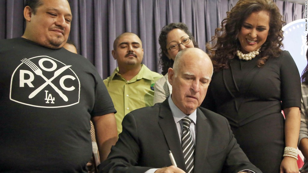 jerry brown paid sick days