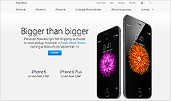 IPhone 6 pre-orders crash Apple Store and iPhone 6 Plus sells out