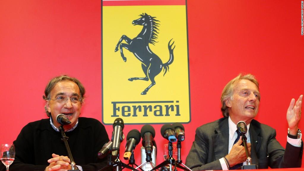 ferrari chairman Marchionne