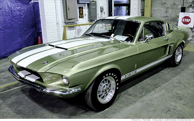 1967 shelby gt500 criminal 39 s muscle car collection auctioned for 2 5 million cnnmoney. Black Bedroom Furniture Sets. Home Design Ideas