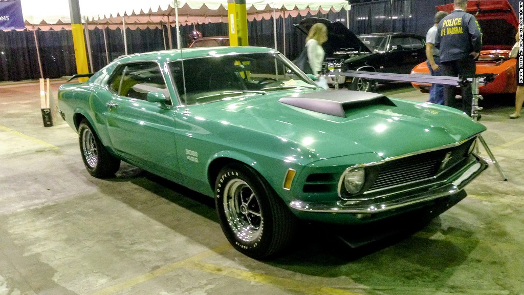1970 Ford Mustang Boss 429 Criminal S Muscle Car Collection