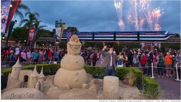 Yet another 'Frozen' spinoff - at Epcot
