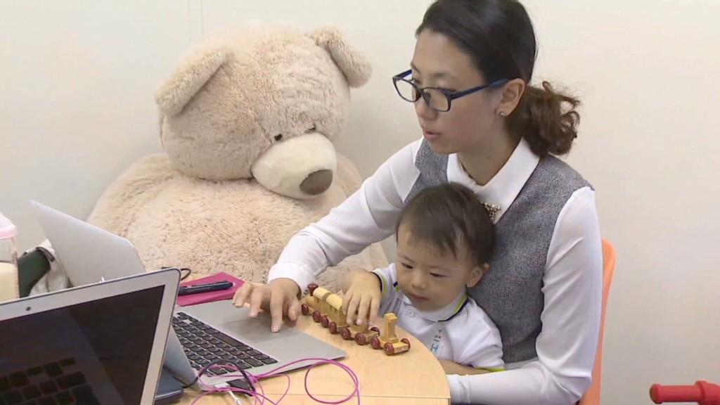 Japan needs more women at work